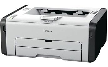 Laserová tiskárna RICOH SP 201N - 22 PPM