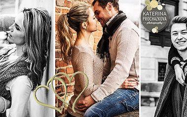 Romantické focení pro pár či jednoho včetně make-upu v luxusním prostředí Boudoir studia