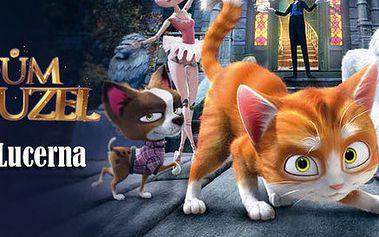 2 lístky do Lucerny na film Dům kouzel 3D