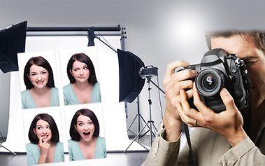 PRŮKAZOVÉ FOTOGRAFIE standardního formátu 35x45 mm 4-8 ks na modrém nebo bílém pozadí!