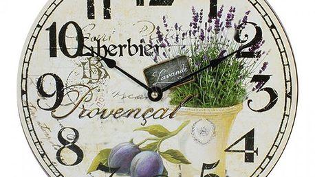 Hodiny Provence Herbier!