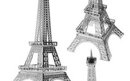 Kovové puzzle 3D Eiffelova věž