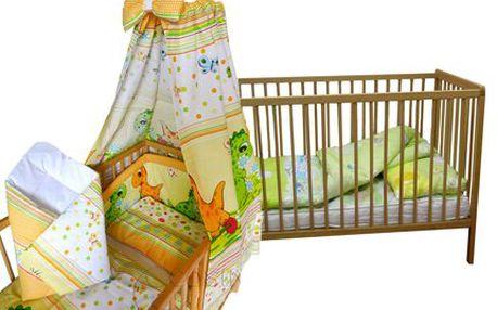 7dílný nebo 12dílný dětský set pro pohodlné spaní