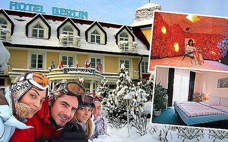 Lázeňský relax v Hotelu Berlín*** v Mariánských Lázních pro dva s polopenzí
