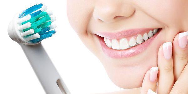 4 náhradní hlavice na elektrické kartáčky Oral-B