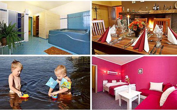 Krásy Lipna na 3 dny jen pro vás - aktivní i relaxační dovolená - Hotel *** RACEK - Černá v Pošumaví