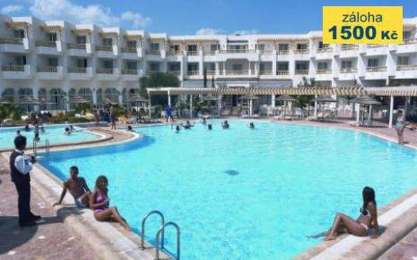 Tunisko, oblast Yasmine Hammamet, letecky, all Inclusive, ubytování v 4* hotelu na 8 dní