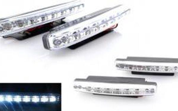 Světla denní svícení 2x 8 LED
