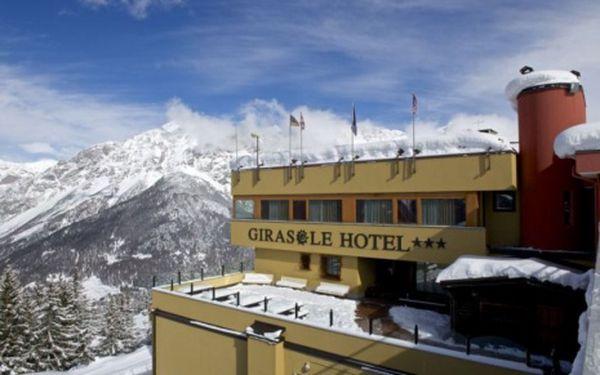Itálie, oblast Bormio, polopenze, ubytování v 3* hotelu na 8 dní