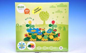 Vista - Stavebnice Blok Flora 4 plast 85ks