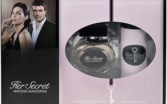 Toaletní voda Antonio Banderas Her Secret Edt 50ml + 150ml deodorant