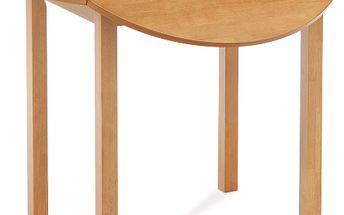 Kruhový jídelní sklápěcí stůl Alan