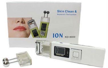 Galvanický a ultrazvukový čistič pleti KD 9000 D4B na domácí použití