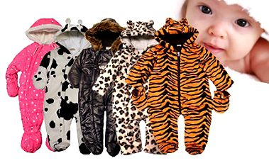 Roztomilé a hřejivé dětské zimní kombinézy - 5 vzorů