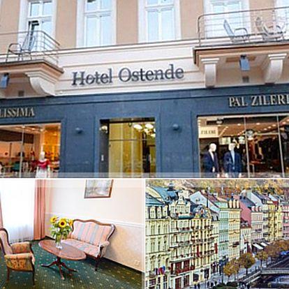 Týdenní léčebný pobyt v Hotelu Ostende**** pro 1 nebo 2 osoby se vstupním vyšetřením, procedurami a polopenzí