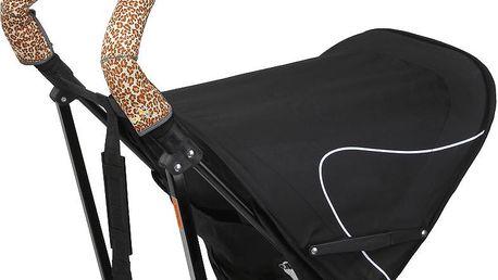 Citygrips Ochrana na kočárek double - Leopard