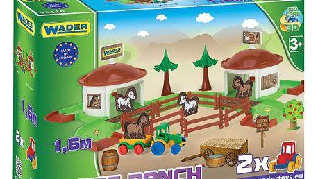 Wader - Kid Cars 3D - koňský ranč