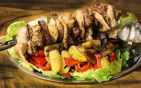 Kord plný 1,5 kg masa - kuřecí, vepřové, hovězí pro 4