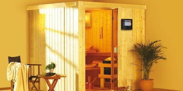 Finská sauna Rodin v setu - Karibu