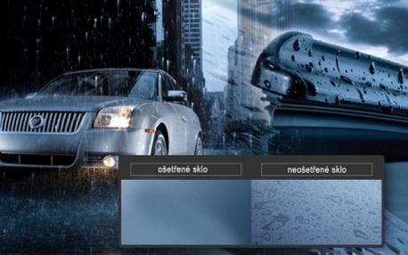 Tekuté stěrače AUFTEC účinné až 1 rok! Jezděte v dešti bez zapnutých stěračů a v zimě hravě odstraňte námrazu!