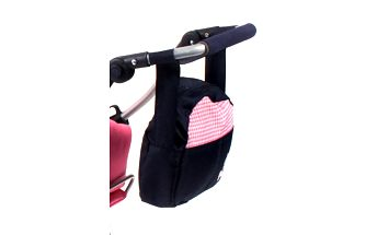 BAYER CHIC - Přebalovací taška ke kočárku pro panenky