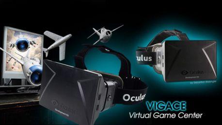Objevte virtuální realitu ve 3D díky brýlím Oculus Rift a projeďte se třeba na horské dráze v reálném 3D!