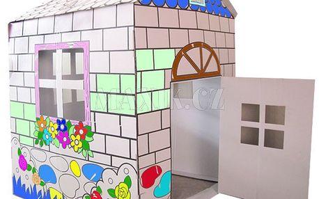KidsHome Vymalovávácí domek