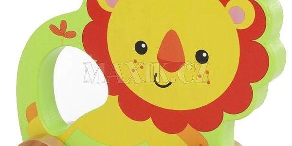 Fisher Price Můj první lev na kolečkách