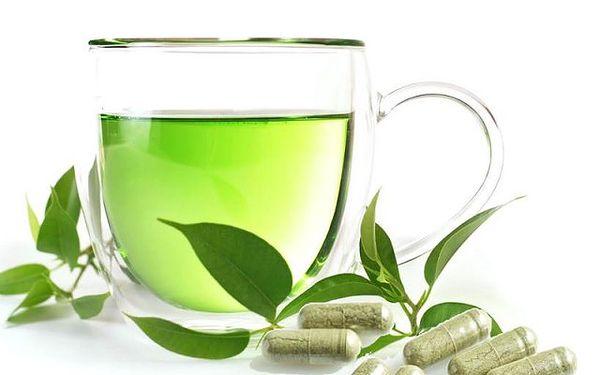 Zelený čaj extrakt 850mg - 60 tablet pro celkové zdraví!
