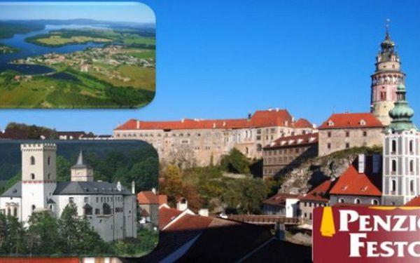 JARO v ČESKÉM KRUMLOVĚ 4 jarní dny pro 2 v penzionu Feston se snídaněmi a lahví Lambruska