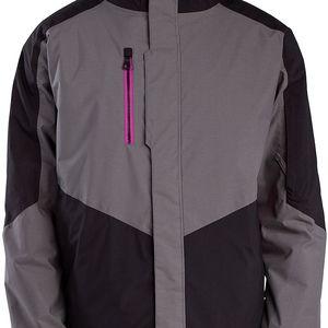 Pánská bunda s izolací Polyfill Pennant Insulated Jacket black