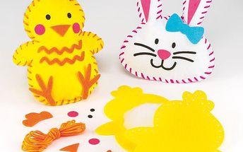 Šitíčko polštářek kuře a zajíc (2ks)