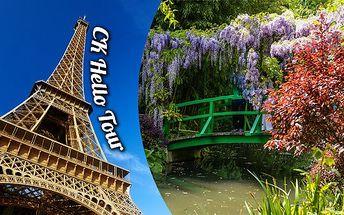 Paříž a Monetovy zahrady