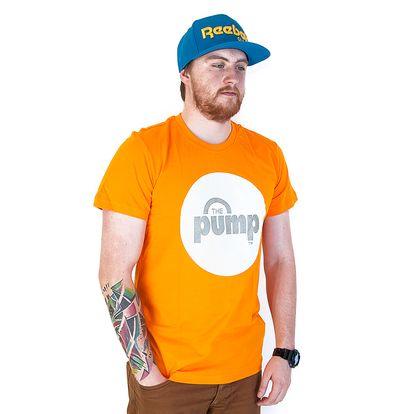 Triko Reebok Classic Pump Reflect Orange oranžová / bílá