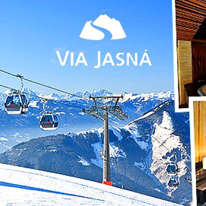 Wellness a lyžování v Jasné pro 2 až 4 osoby