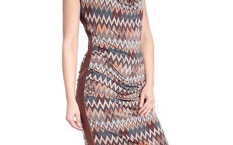 Dámské šaty se vzorem SforStyle