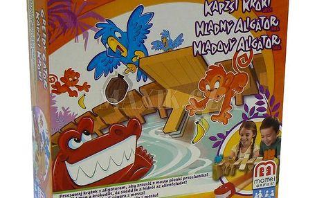 Hladový aligátor Mattel X8733