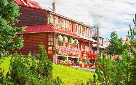 Belianské Tatry s polopenzí a s platností do září 2015 v penzionu Blanka ve Ždiaru