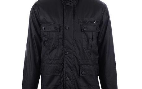 Pánská černá bunda se čtyřmi kapsami Joluvi