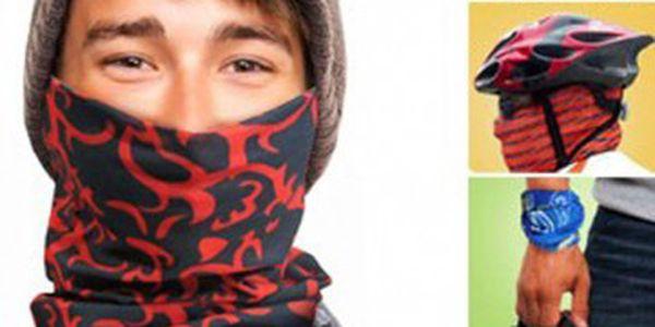 Multifunkční šátek - ideální pro sportovce!