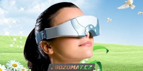 Masážní strojek na oči a oční okolí - zasloužený relax!