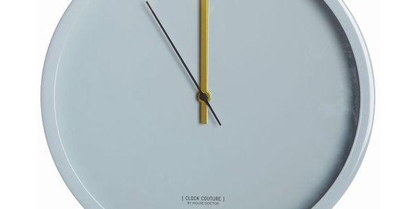 Nástěnné hodiny Couture Gray, 30 cm