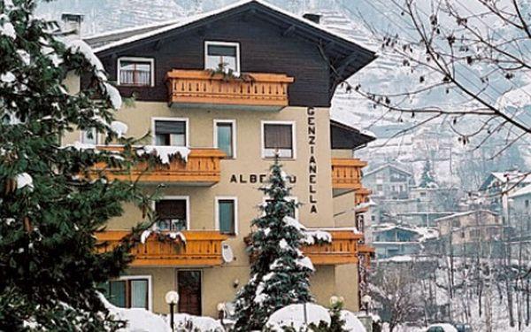 Itálie, oblast Alta Valtellina, polopenze, ubytování v 3* hotelu na 6 dní