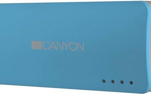 Záložní zdroj Canyon CNE-CPB44 4400mAh, modrá