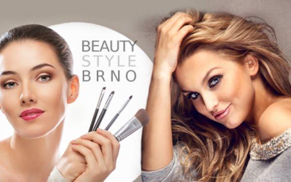 Individuální kurz líčení! Naučte se správně líčit a používat svou kosmetiku! Kosmetický štětec jako dárek!