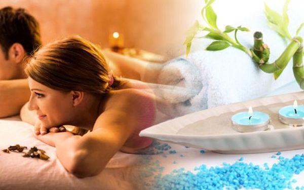 60 minutová masáž celého těla pro párdle výběruz pěti variant: relaxační, rekondiční, čokoládová, medová, sportovní. Prožijte dokonalou romantiku a uvolnění ve dvou!