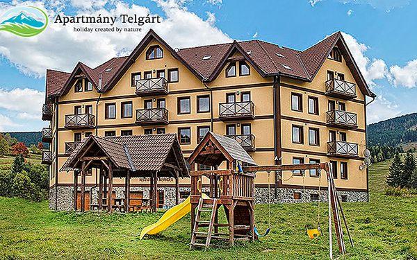 Apartmány Telgárt s polopenzí v lyžařském středisku