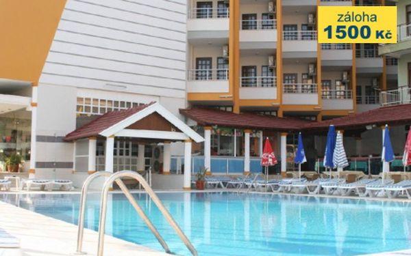 Turecko, oblast Turecká Riviéra, letecky, all Inclusive, ubytování v 3* hotelu na 8 dní