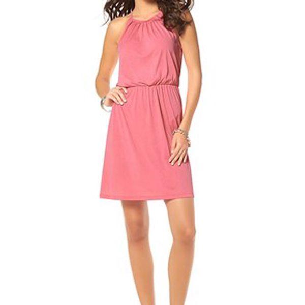 Šaty s elastickým páskem
