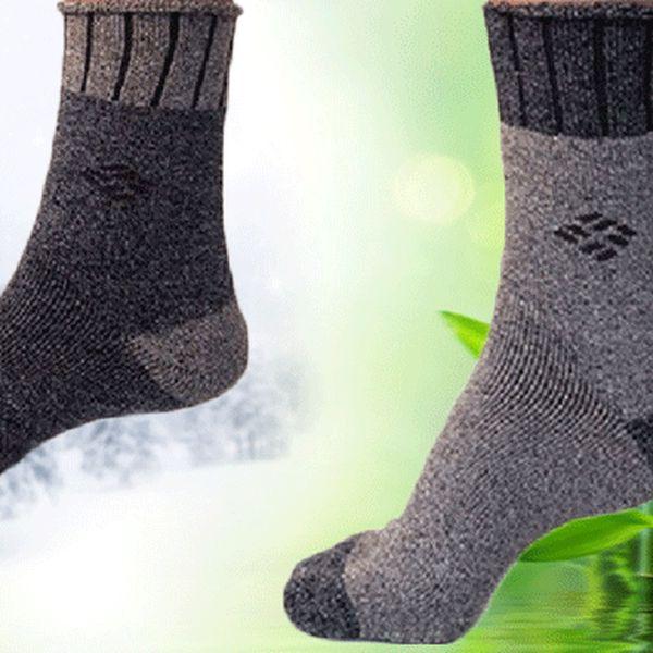 6 nebo 12 párů termo bambusových ponožek